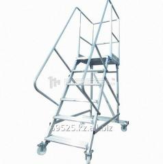 Tower step-ladder BC-3,5, folding on wheels