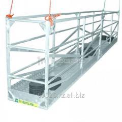 Temporary suspended platforms