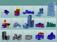 Container plastic, Plastic container