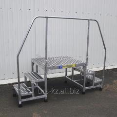The platform for a packing machine of PUMAS