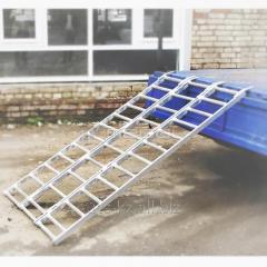 Ladder ramp for arrival/congress of ATV LPDZK