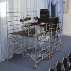 Design for theatrical and spectacular actions of