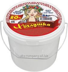 Сметанный продукт ХОХЛУШКА, 20%, 5 кг