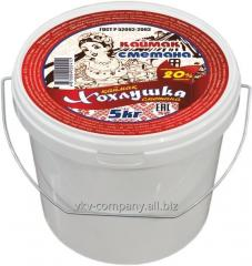 UKRAINIAN sour cream, 20%, 5 kg