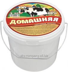 Сметанный продукт ДОМАШНЯЯ,  20%,  5 кг