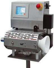 Equipment for cutting of sausage garlands of WS of