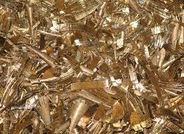 The scrap is brass