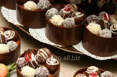 Шоколадная глазурь, трюфельные массы, шоколадный
