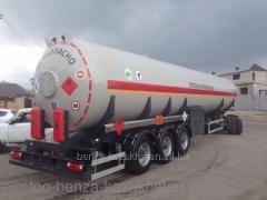 Газовоз полуприцеп ППЦТ-50