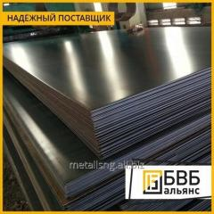 Stainless steel plate 0.6 mm 08H15N5D2T-sh EP 410-w; TNC-2; EP-225 W