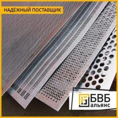 La hoja perforado de aluminio АМг3Н2