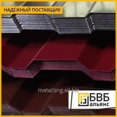 Лист профилированный металлошифер 0,6