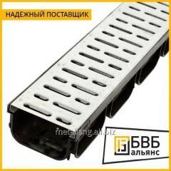 Drainage tray (high-strength cast iron with Nodular graphite iron) 745 x 125 x 125