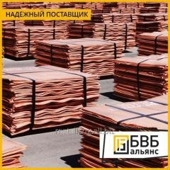 Copper cathodic M0k