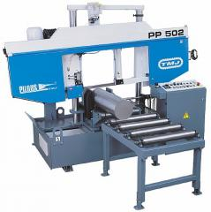 Lentochnopilny semi-automatic Pilous machines of