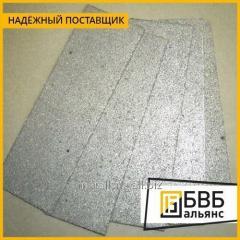 Las placas los de titanio poroso ТПП-4-МП AQUELLA