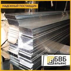 Strip aluminum 6x100x4000 AD31T