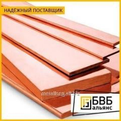 Strip copper 5x80x4000 M1T
