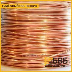 El alambre de bronce 0,65 mm de BrB2