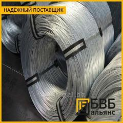 Wire of rope 2,1 mm of GOST 7372-79 galvanized OZh Zh C, the neozinced black ligh