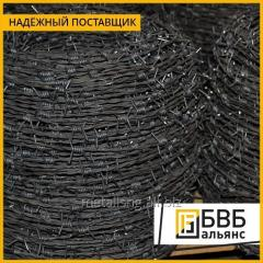 GOST 285-69 barbed wire of 3 mm black