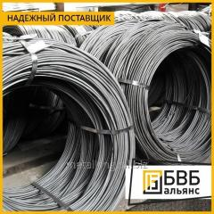Wire of spring 5,5 mm 60C2A of GOST 14963-78