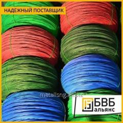 Wire with PVC coating