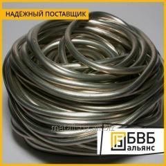 El alambre hromel 0,018 mm НХ9