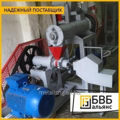 La producción de la maquinaria para la fabricación