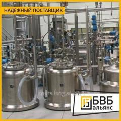 Production of industrial reactors for production of varnishes and paints