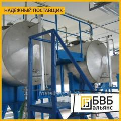 Production of tanks for the alcoholic beverage