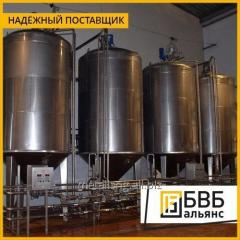 Production of tanks for the oil and fat industry
