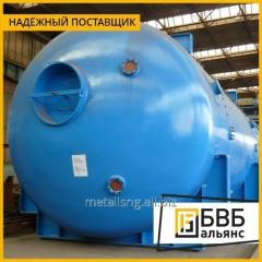 Production of tanks for the petrochemical industry