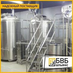 Production of tanks for the beer and soft drinks