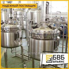 Production of tanks for pharmaceutical industry