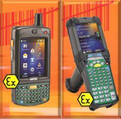 Explosion-proof mobile computers and scanners