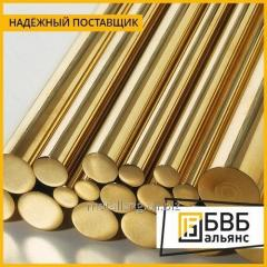 Bar of LS59-1PT of brass 6 mm