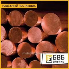 Prutok de cobre 55х3000 М1Т