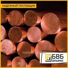 Prutok de cobre 60х2500 М1