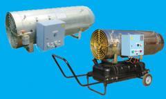 Air heaters in Temirta