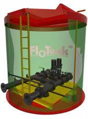 Station of increase of pressure FloTenk-KNS-DRY,