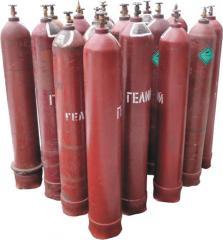 Гелий газообразный марок А, Б