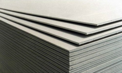 Gypsum cardboard
