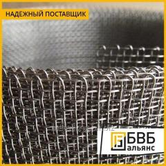 Stainless steel wire mesh 1.6 x 0.32 12x18h10t woven