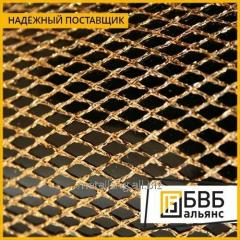 La red tkanaya de bronce 0,14х0,09 BrOF6,5-0,4