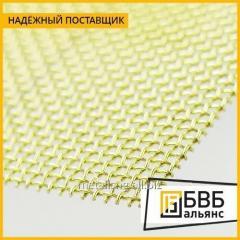 La red tkanaya de latón 09х0,14 Л63