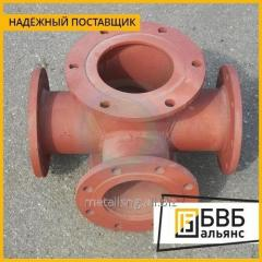 Tee socket flange with fire stand PPTRF 250x100