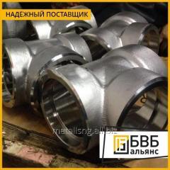 La unión T de acero 530х10 09Г2С el GOST 17376-01