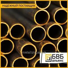 El tubo de bronce de perfil 105х80х12,5 BrAzHmTs