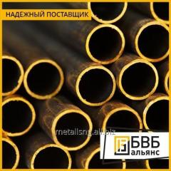 El tubo de bronce de perfil 95х65х15,0 BrAzHmTs